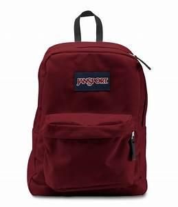 JanSport SuperBreak School Backpack - Viking Red ...
