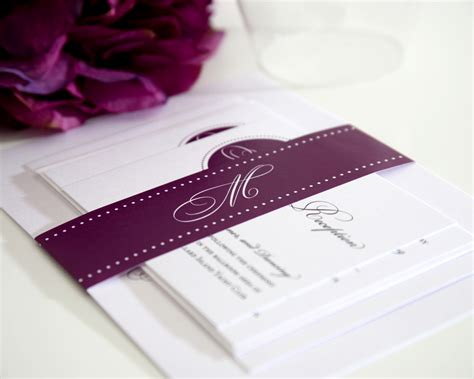 inexpensive save the date cards purple wedding invitations wedcardshare