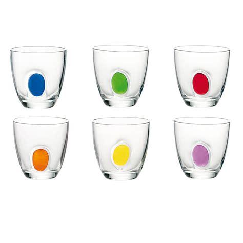 bicchieri acqua bicchieri acqua 6pz gocce guzzini stilcasa net set di