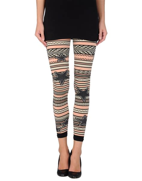 light pink tights lyst laneus in pink