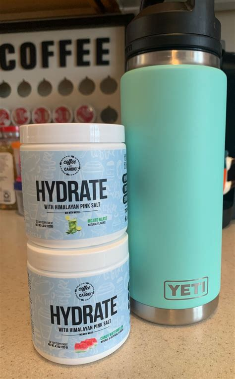This is coffee over cardio: HYDRATE with Himalayan Sea Salt is the newest addition to ...