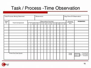 time study forms excel pertaminico With time studies template