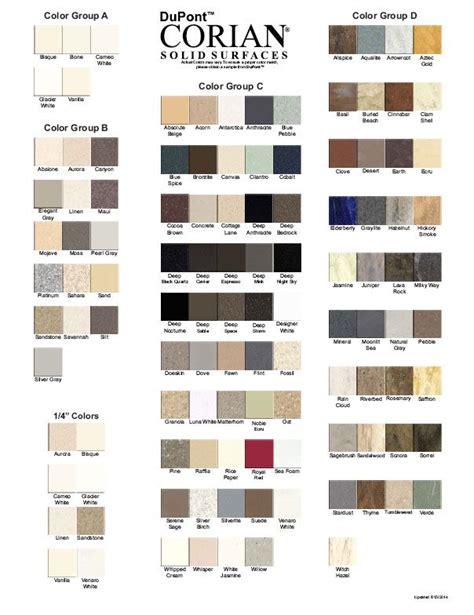 Corian Solid Surface Colors Corian Colors Pdf Corian Colors In 2019 Corian