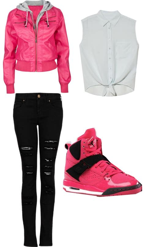 Outfits With Pink Jordans For Girls | www.pixshark.com ...