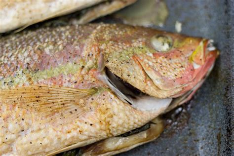 whole grouper baked recipe snapper yellow roasted tailed fresh fast easy