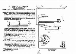 Stanley Steamer Wiring Diagrams