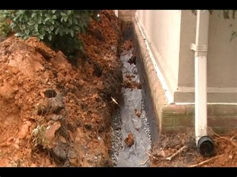 Do It Yourself Basement Waterproofing by Waterproof Your Foundation How To Trench Seal Wall Add