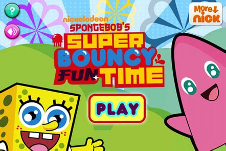 spongebob bouncey time hd nick jr grown ups 675 | spongebob bouncey fun time hd screenshot 2