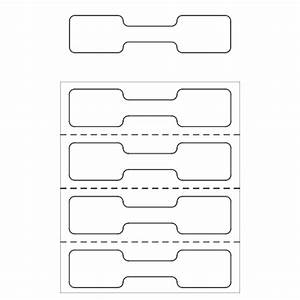 Adhesive free zone jewelry tags non sticky jewelry for Jewelry labels template