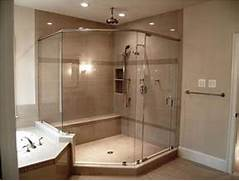 Shower And Tub Enclosures Lowes by Minimalist Bathroom With Shower Stalls Enclosures Lowes And Glass Shower Enc