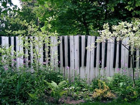 unique  creative diy fence design ideas