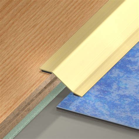 barre de seuil de porte pour carrelage barre de seuil laiton dor 233 l 93 x l 5 cm leroy merlin