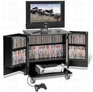 Prepac mobile gaming cart TV stand - Hometone