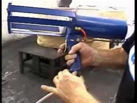 bedliner cartridge spray gun rail step 9