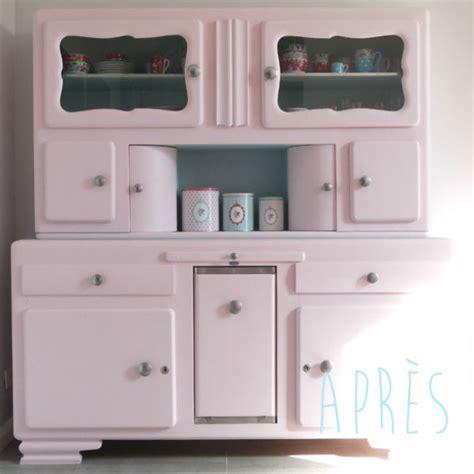 meubles de cuisine vintage inspirations déco repeindre un meuble vintage