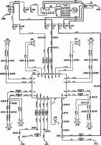 Volvo 850  1993 - 1994  - Wiring Diagrams - Audio