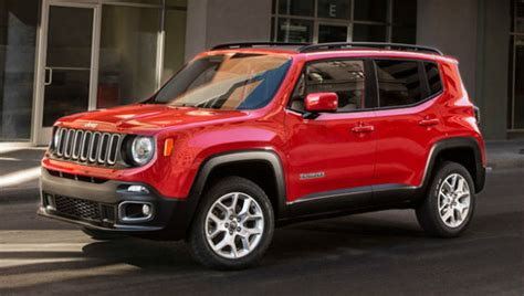 types of jeeps 2015 2016 jeep renegade review configurations release date