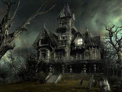 Wallpapers Horror Scary Haunted Ghost Mansion Places