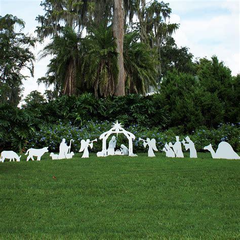 standard size complete nativity set