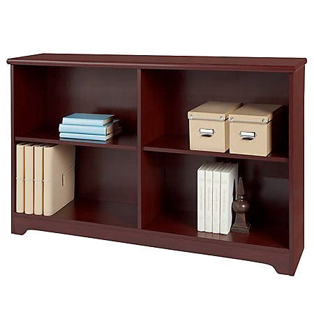 Two Shelf Bookcase by Realspace Magellan Collection 2 Shelf Sofa Bookcase