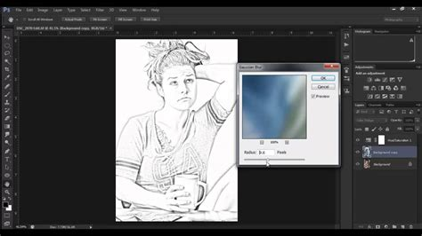 how to make your look like pencil sketch in photoshop