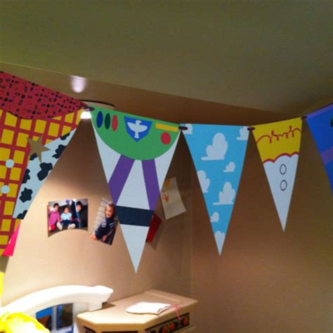 Toy Story Bunting Template by Toy Story Character Theme Bunting Toy Story Birthday