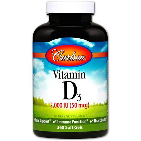 vitamin d l carlson labs витамин d3 2 000 ме 50 мкг 360 мягких