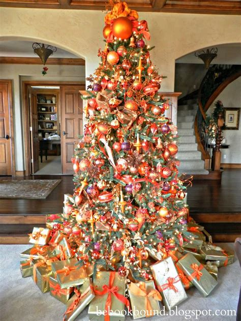 ideas  orange christmas tree  pinterest
