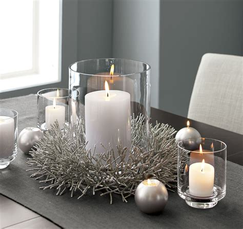 Silver Glitter Wreath Centerpiece So Thats Cool