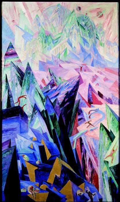 kunst und kreativ itzehoe quot the path of genius quot 1918 by wenzel habik german