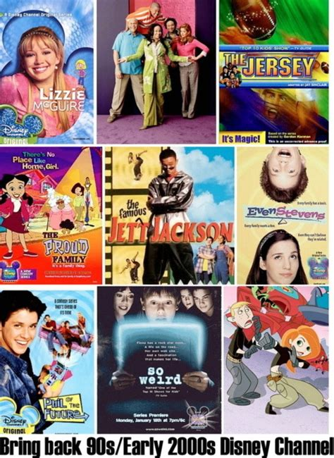bring back 90s early 2000s disney channel nickelodeon