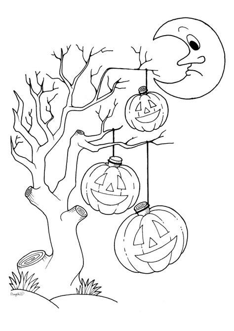 halloween disegni gratis da stampare  colorare