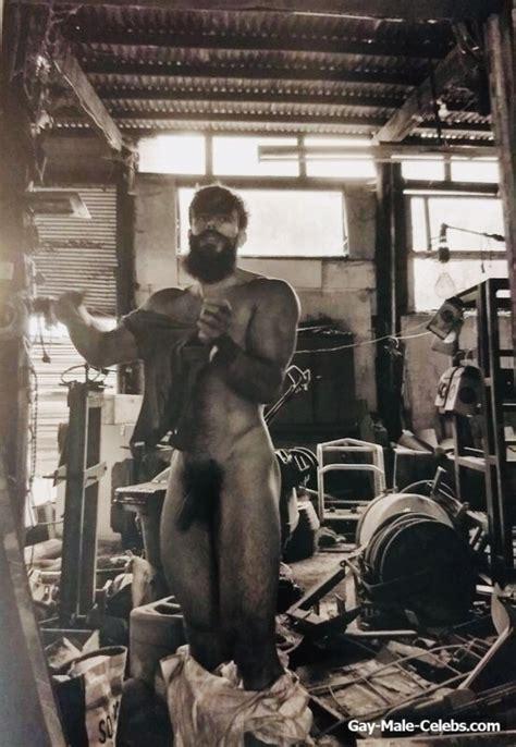 sport model killian belliard exposing his huge cock gay male