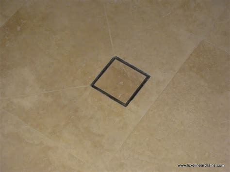 two methods for installing the luxe square tile insert