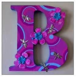 Purple Letter B
