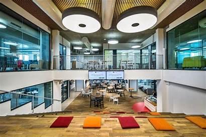 Office Inside Perion Exclusive Auditorium Headquarters Elegant