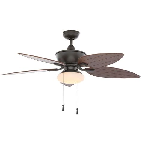 hton bay transitional collection ceiling fan home decorators collection bentley iii 22 in oscillating