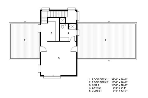 modern style house plan  beds  baths  sqft
