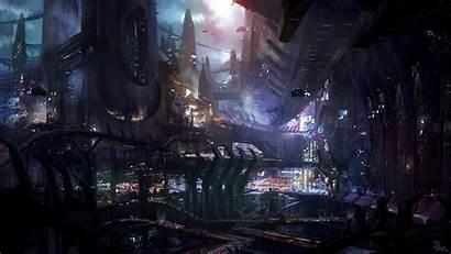 Fiction Concept Science Futuristic Fantasy Artwork Wallpapers