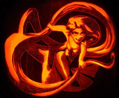 Rapunzel Pumpkin Template by Pumpkin Stencil Contest