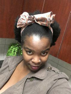 benny  betty natural hairstyle  bantu knots