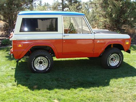 1971 Ford Bronco Stroppe Edition 112776