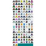 Splatoon Sheet Clothing Icons Clothes Gear Spriters