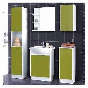 Meuble De Salle De Bain Solde : meuble haut salle de bain pas cher ~ Teatrodelosmanantiales.com Idées de Décoration