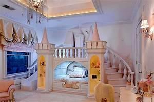 Image De Chambre : chambre de fille les 12 plus belles chambres princesse ~ Farleysfitness.com Idées de Décoration