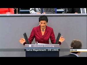 Wer Muss Die Rauchmelder Installieren : sahra wagenknecht die linke wer demokratie will muss ~ Lizthompson.info Haus und Dekorationen