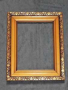 Acheter Cadre Photo : cadre ancien en bois et stuc dore sculpte d 39 arabesques ~ Teatrodelosmanantiales.com Idées de Décoration
