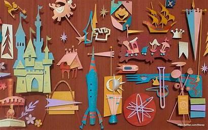 Disney Disneyland Desktop Collage Kidney Paper Retro