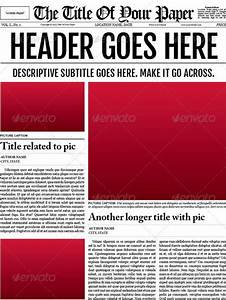free cover page templates newspaper template 16 free word pdf documents download