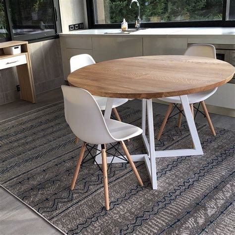 4.5 out of 5 stars. Extendable round table. Ausziehbarer runder Esstisch. Table ronde extensible. Free shipping ...